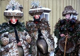 Masques suisses traditionnels