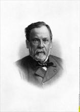 Louis PASTEUR (Chemiker F, *1822-1895+) - Stich um 1889