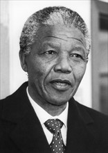 Nelson Mandela en visite officielle à Bonn