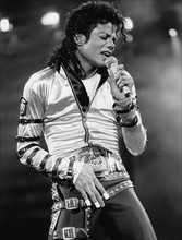 Michael Jackson sur scène à Berlin
