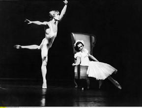Mikhail Baryschnikov et Lynn Seymour