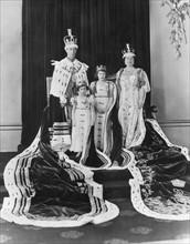 Couronnement du roi George VI du Royaume-Uni