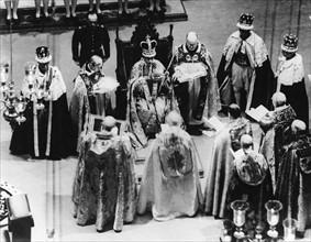 Cérémonie de couronnement du roi George VI du Royaume-Uni