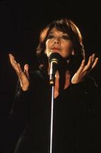 Juliette Gréco sur scène