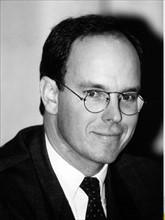Albert de Monaco en 1994