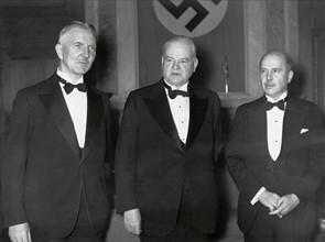 Réception en l'honneur de Herbert Hoover