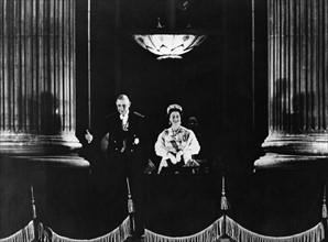 Le général de Gaulle en visite officielle à Londres
