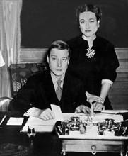 Edouard VIII et Wallis Simpson
