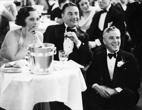 Charlie Chaplin et son frère Sydney