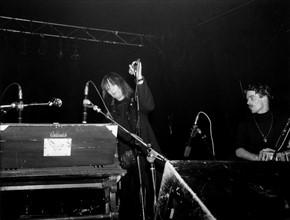 La chanteuse Nico sur la scène du Quartier Latin à Berlin