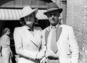 Marlène Dietrich et son mari