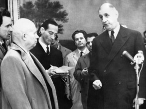 Visite officielle de Nikita Khrouchtchev en France, 1960