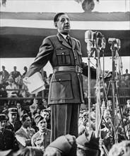 Charles de Gaulle, 1942