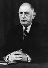 Gaulle, Charles de - Politiker, Frankreich