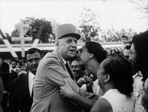Visite officielle de Charles de Gaulle en Polynésie Française, 1966