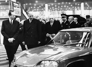 Charles de Gaulle au Salon de l'Auto 1965