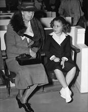 Shirley Temple avec Eleanor Roosevelt