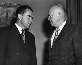 Richard Nixon et Dwight Eisenhower