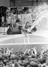 Concert des Rolling Stones, 1982