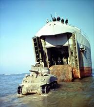 Débarquement allié en Normandie en juin 1944