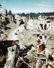 Débarquement allié en Normandie, août 1944