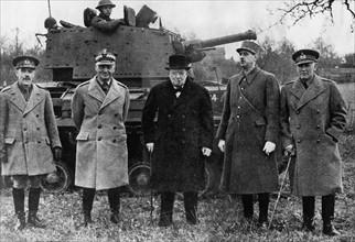 Inspection des troupes par les Alliés, 1941