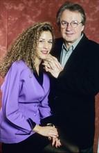 Giorgio Moroder et sa femme Francesca