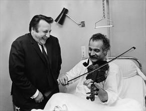 Raymond Devos et Georges Brassens