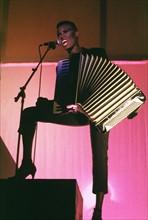 Grace Jones sur scène