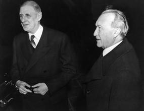 Visite officielle de Charles de Gaulle en Allemagne, 1958