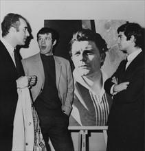 Piccoli, Belmondo et Brialy, 1965