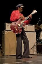 Chuck Berry sur scène, 2005
