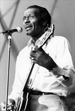 Chuck Berry, juillet 1987