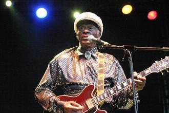 Chuck Berry sur scène, 2007
