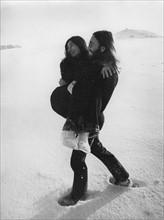 John Lennon und Yoko Ono in Dänemark