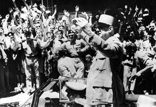 Charles de Gaulle à Alger, 1958