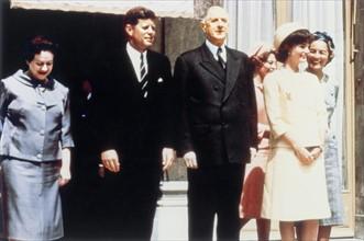 Visite officielle de John F. Kennedy en France, 1961