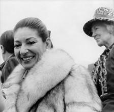 Maria Callas en 1977