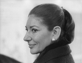 Maria Callas en 1974