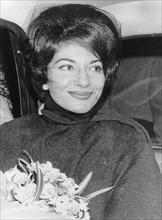 Maria Callas en 1962