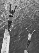 Deux nageurs allemands, 1932