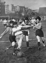 Football féminin, 1928