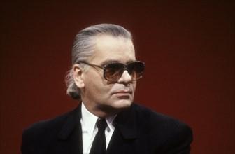 Karl Lagerfeld, 1990
