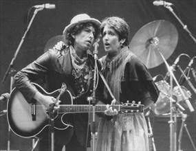 Bob Dylan et Joan Baez, 1984
