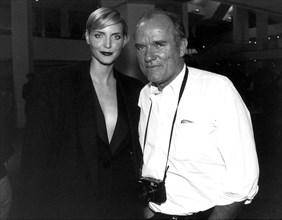 Peter Lindbergh et Nadja Auermann, 1996