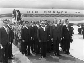 Habib Bourguiba, Willy Brandt, 1966