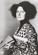 Emilie Floege, about 1910.