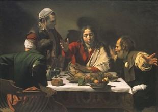 Caravaggio, Le dîner d'Emmaus