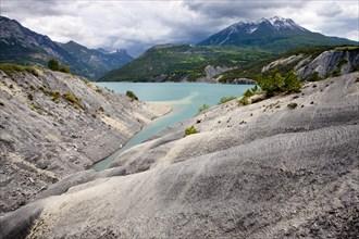 Lac de Serre-Poncon reservoir