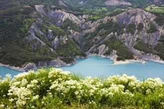 Lac de Serre-Ponçon reservoir